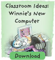 Winnie Classroom ideas: Winnie's New Computer