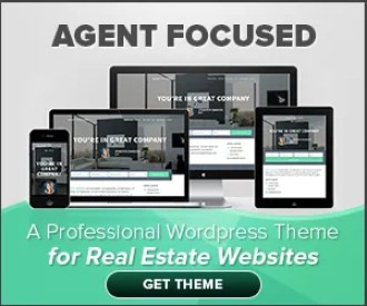 Agent Focused - a professional WordPress theme for real estate websites