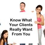 Let's Get Personal: Knowing What Clients Really Want From You