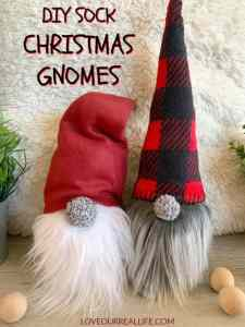 Stuffed gnomes