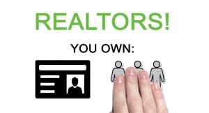 Real Estate agents must own their own information