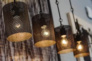Tin light fixtures