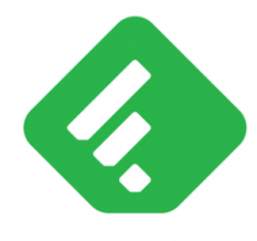 Social media management Feedly logo