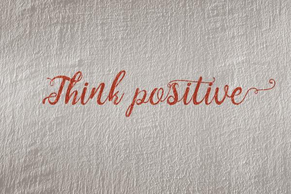 Think positive words_Science of Positivity