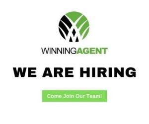 Winning Agent we are hiring logo