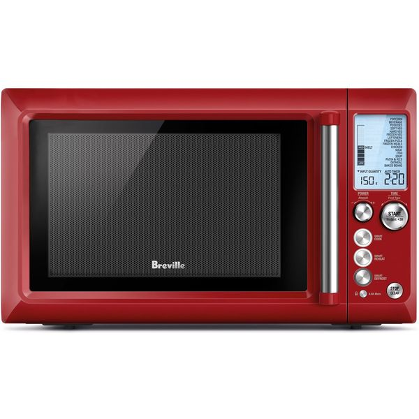 breville quick touch microwave oven 1100w bmo735cr