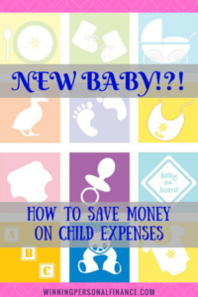 New Baby Save on Child Expenses