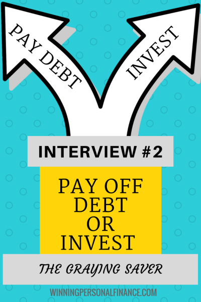 The Graying Saver Pay Off Debt or Invest