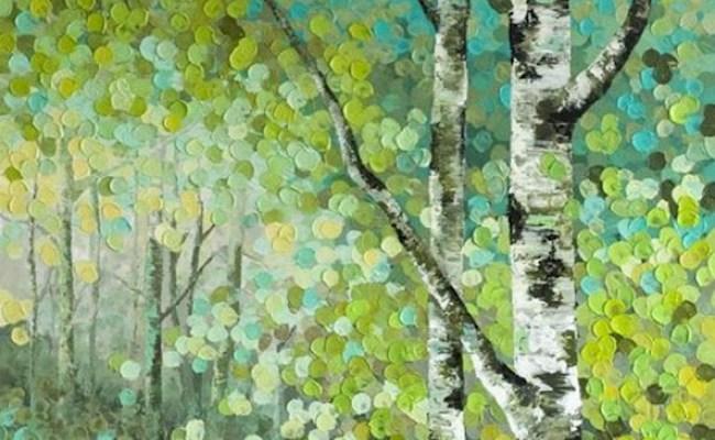 Birch Forest Winnipeg Art Wine