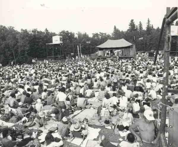 Winnipeg Folk Festival historical photo