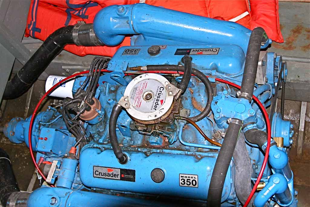 crusader marine engine cooling diagram