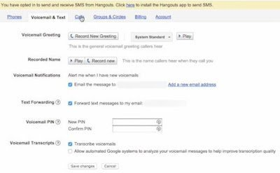 Get Free Unlimited Talk and Text Using Google Voice and Hangouts 7