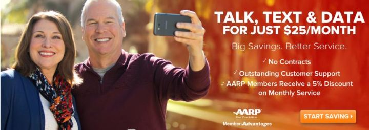 AARP Cell Phone Plans Discounts For Seniors 2