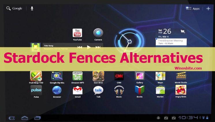 Альтернативы Stardock Fences для ПК с Windows