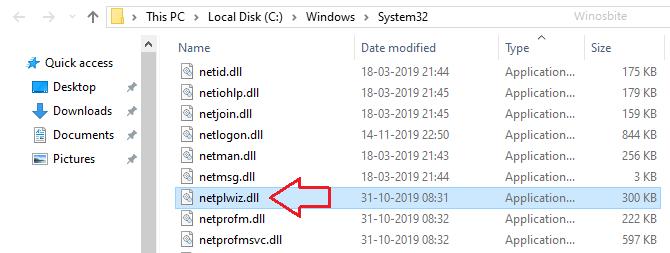 netplwiz.dll расположение файла