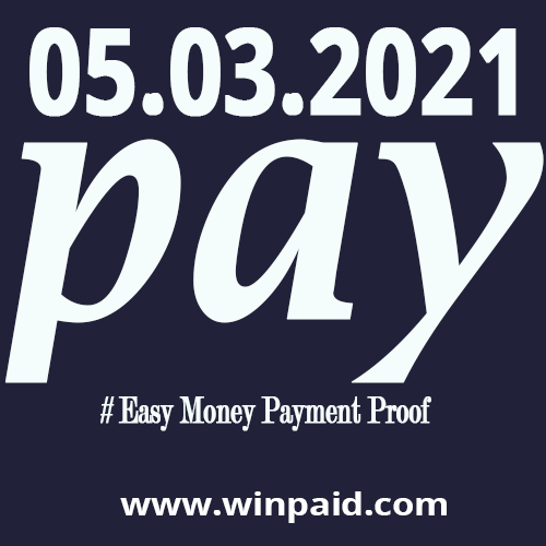 # Easy Money Payment Proof