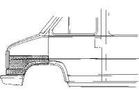 Reparatie plaatwerk voor FIAT DUCATO Bestelwagen (280