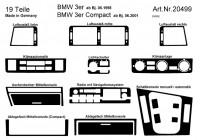 Interieursets (plakset) voor BMW