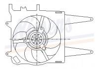 Koelventilator voor FIAT