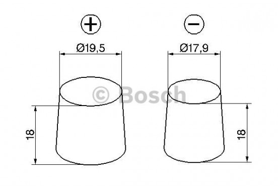 Bosch S5 013 Silver Accu 100 Ah voor o.a. ALFA ROMEO