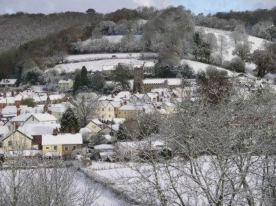 Dulverton in Winter