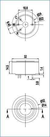 NO2 gas sensor, Nitrogen Dioxide sensor- Winsen Electronics