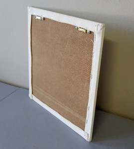 6mm artist's boards with stretched canvas