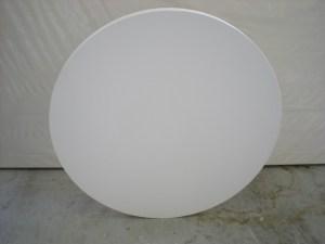 round shaped artist canvas