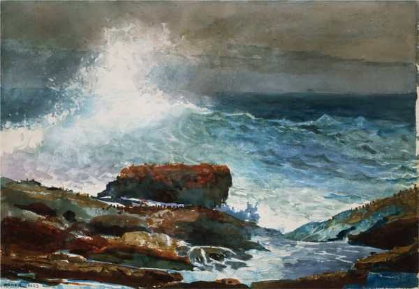 Winslow Homer Maine Paintings
