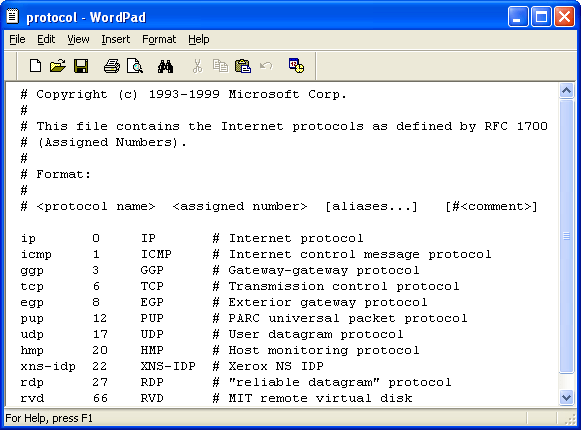 C program examples on getprotobyname getprotobyport