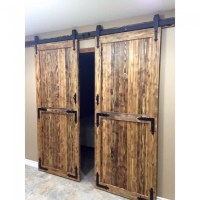WinSoon 4-18FT Sliding Barn Door Hardware Double/Single ...