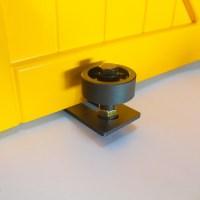 WinSoon Sliding Barn Door Hardware Wall Guide Door Bottom ...
