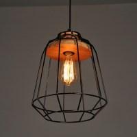 WinSoon Vintage Industrial DIY Metal Ceiling Lamp Light ...