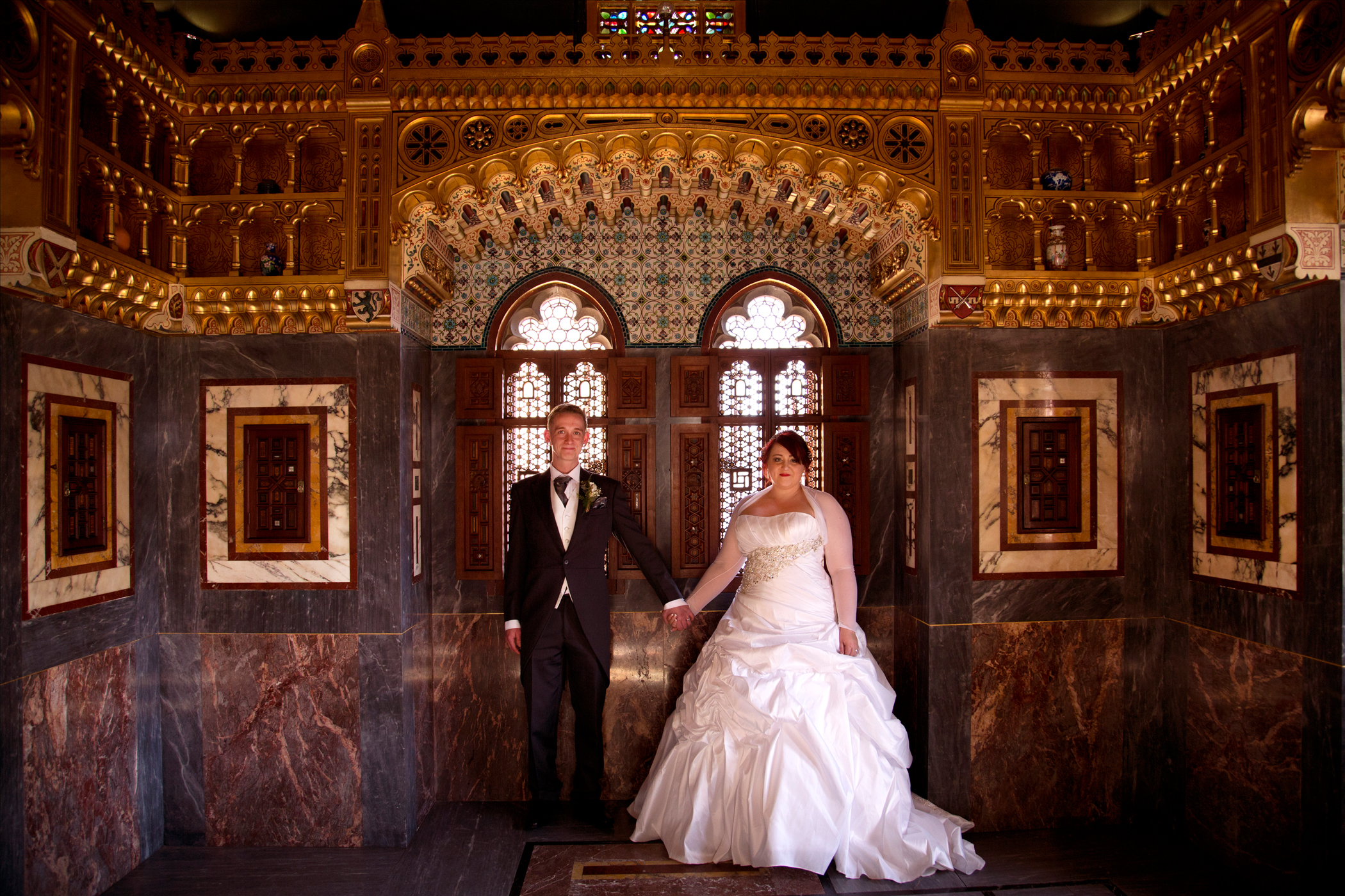 Wedding Photographer Cardiff Castle