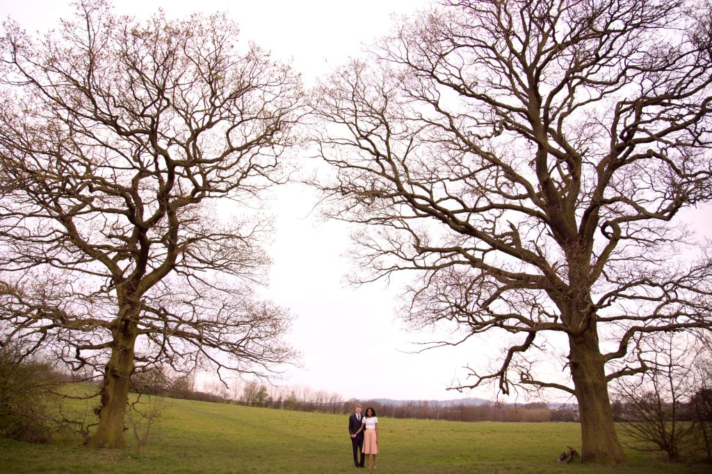 Wedding Photographer engagement shoot South Wales London