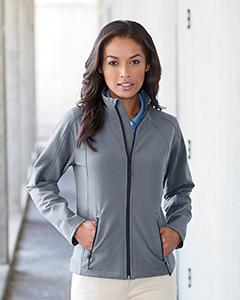 Devon /& Jones Womens Doubleweave Jacket D945W