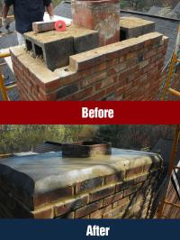 Chimney & Fireplace Masonry Repair - Northern VA - Winston ...