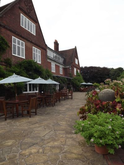 Terrace, 6th September 2016, Winterbourne House and Garden, Digging for Dirt