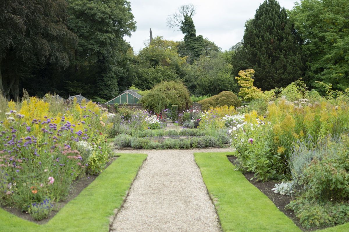 The Walled Garden, photograph by Victoria Beddoes, Snapshot So Victoria, Winterbourne House and Garden, Digging for Dirt