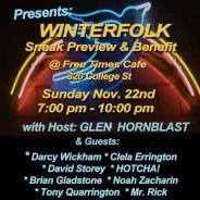 Successful Winterfolk XIV Sneak Preview and Fundraiser!
