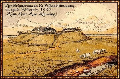 Zur Erinnerung an die Volksabstimmung im Lande Schleswig 1920