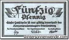 Oranienburg, 50 Pf.