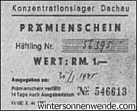 Dachau, one Mark