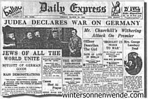 The London Daily Express, March 24, 1933