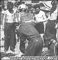 Deutsche Soldaten bei Dallien