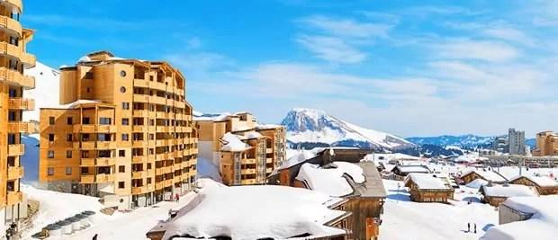 Wintersport met kerst in Frankrijk