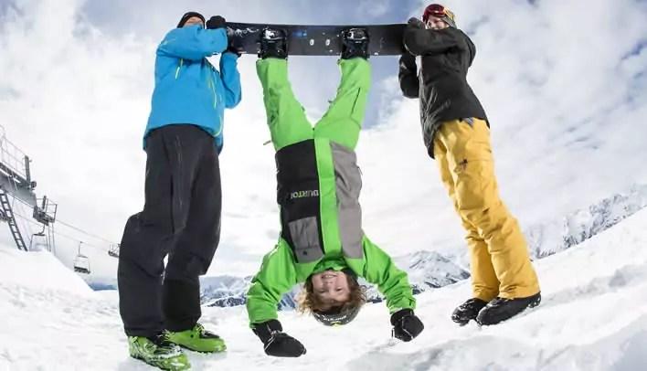 Wintersport met kinderen in Königsleiten