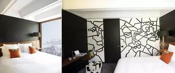 Trendy hotel voor een korte skivakantie in Flaine