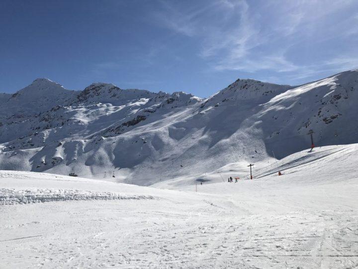 Piste in Zinal in Val d'Anniviers