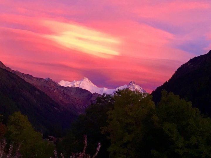 Herfstbeelden van Val d'Anniviers